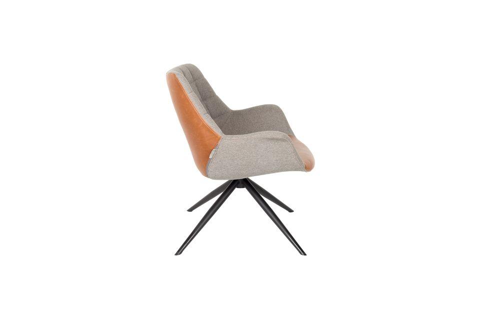 Chaise lounge Doulton Vintage Marron - 10