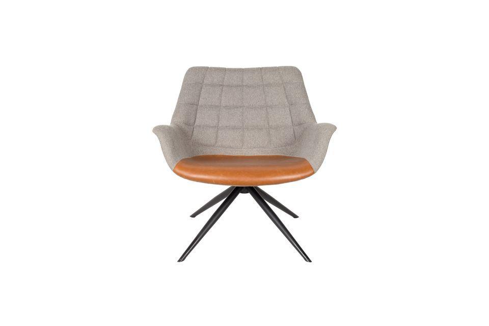 Chaise lounge Doulton Vintage Marron - 11
