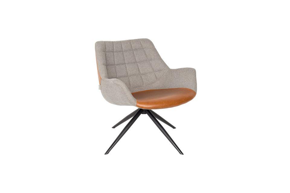 Chaise lounge Doulton Vintage Marron - 7