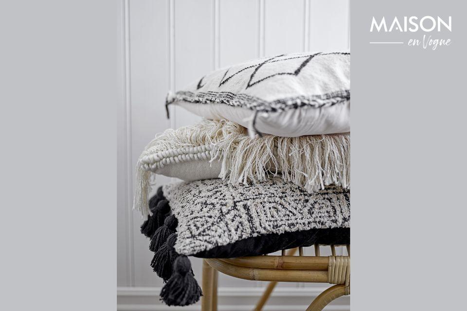 Une chaise confortable au design naturel