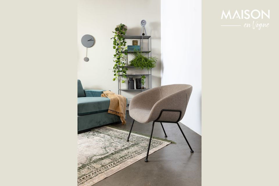 Chaise lounge Feston Fab Grise Zuiver