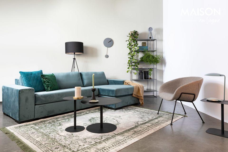 Une chaise confortable, qui mise sur un style moderne et facile à assortir