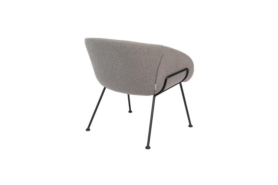 Chaise lounge Feston Fab Grise - 8