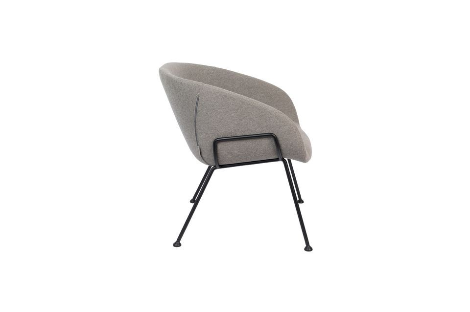 Chaise lounge Feston Fab Grise - 9