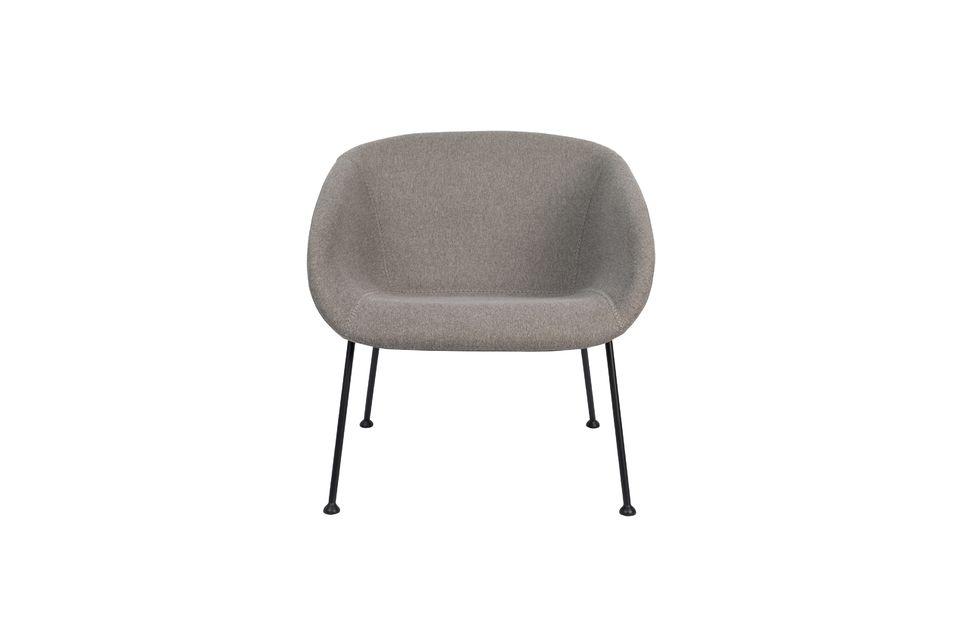 Chaise lounge Feston Fab Grise - 10