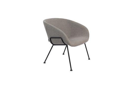 Chaise lounge Feston Fab Grise Détouré