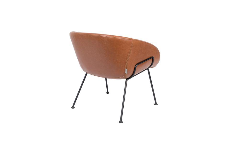 Chaise lounge Feston Marron - 7