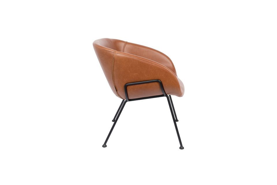 Chaise lounge Feston Marron - 8
