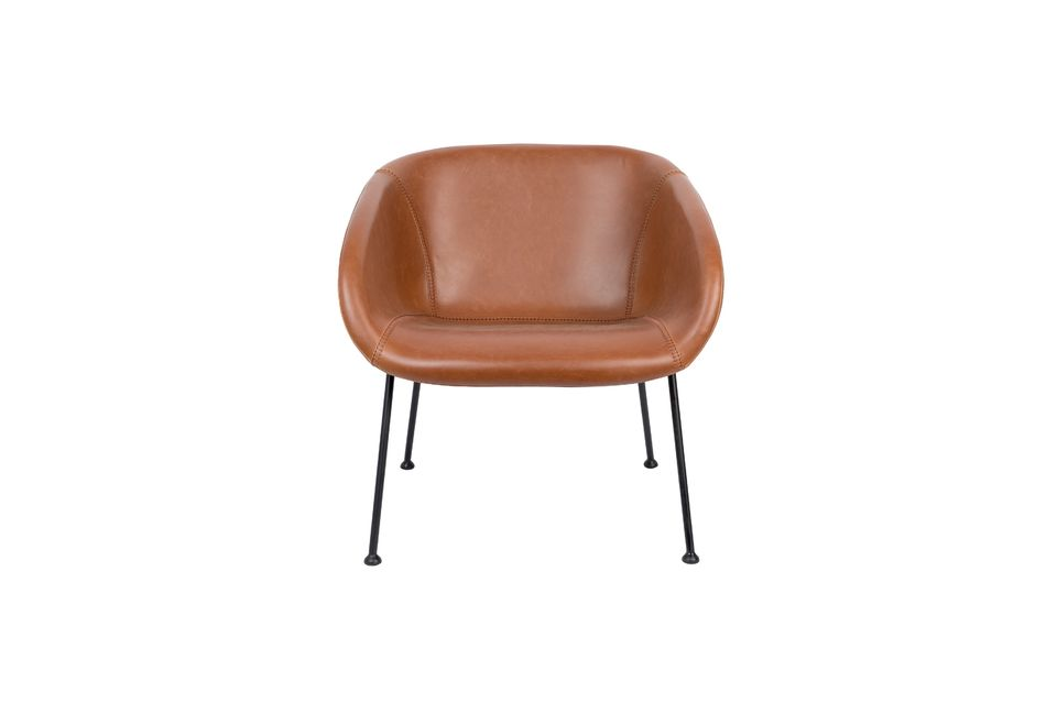 Chaise lounge Feston Marron - 9