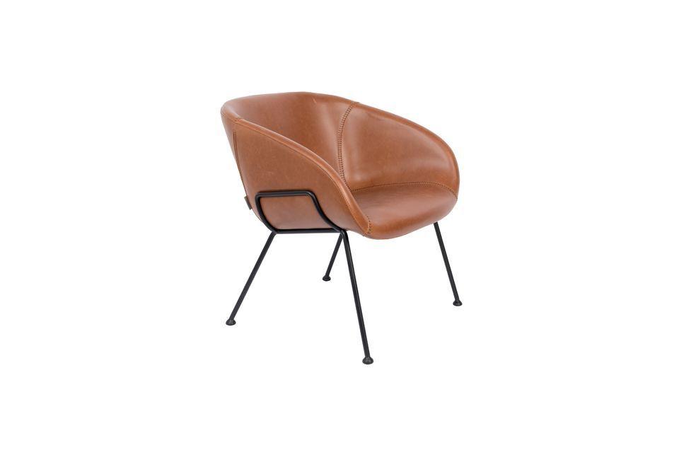 Chaise lounge Feston Marron