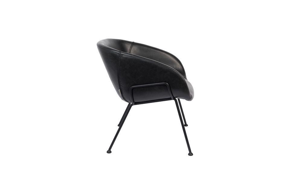 Chaise lounge Feston Noire - 8