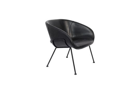 Chaise lounge Feston Noire Détouré
