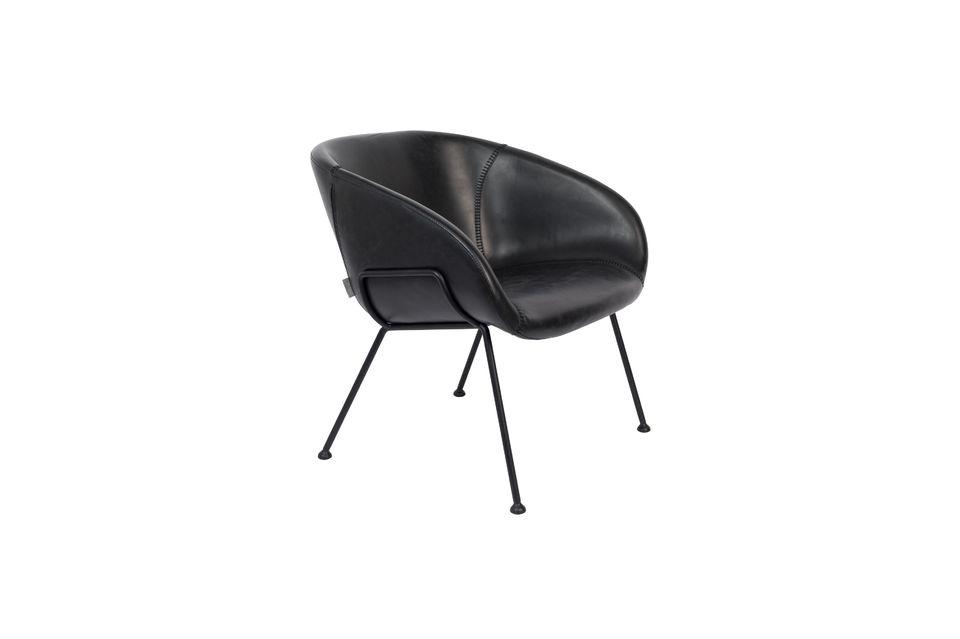 Cette chaise élégante est idéale pour mettre en valeur un espace contemporain