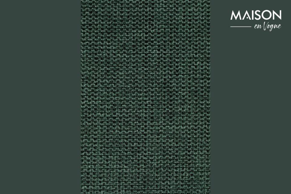 Le contreplaqué du dossier et de l\'assise est recouvert de mousse polyuréthane d\'une densité