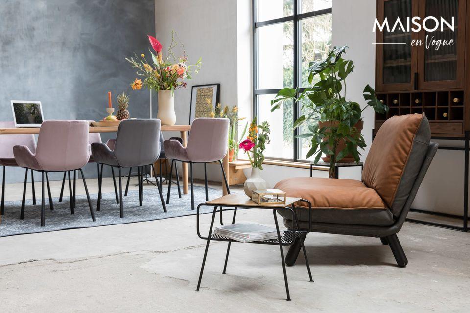 Pour un maximum d\'aise, on peut combiner ce meuble avec le repose-pieds assorti Lazy Sack