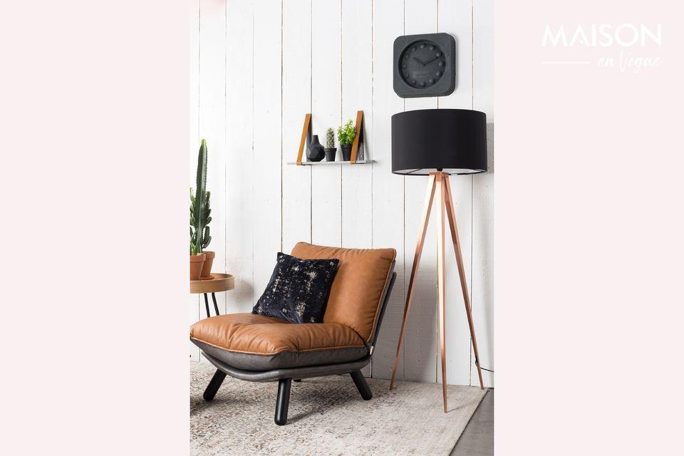 Chaise lounge Lazy Sack Li Brown - 6