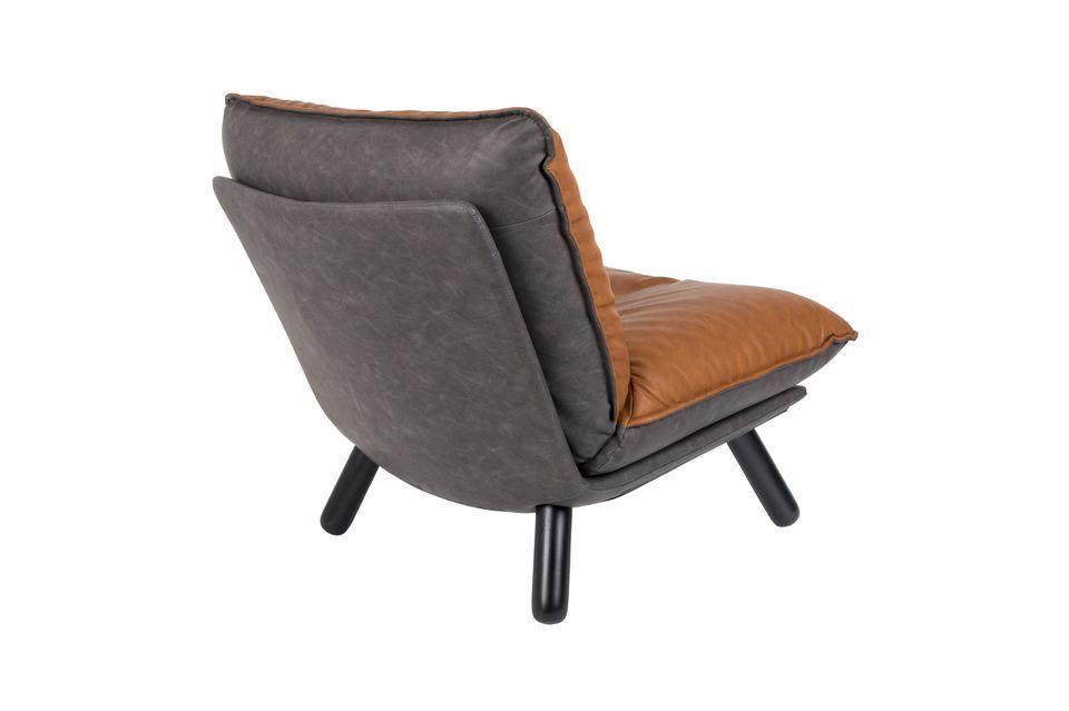 Chaise lounge Lazy Sack Li Brown - 12