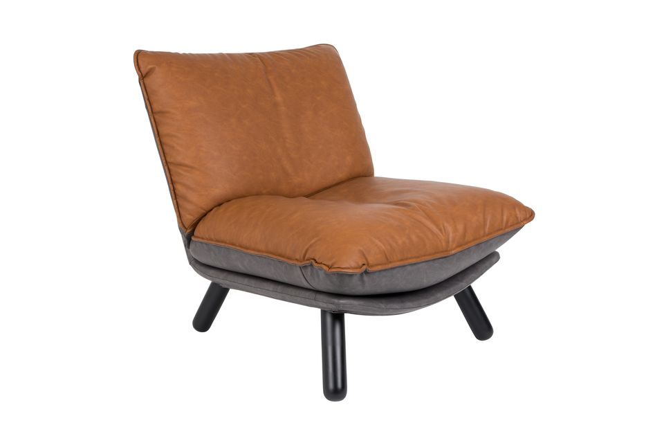 Chaise lounge Lazy Sack Li Brown Zuiver