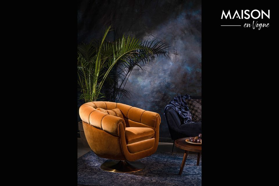 Chaise lounge Member Whisky Dutch Bone
