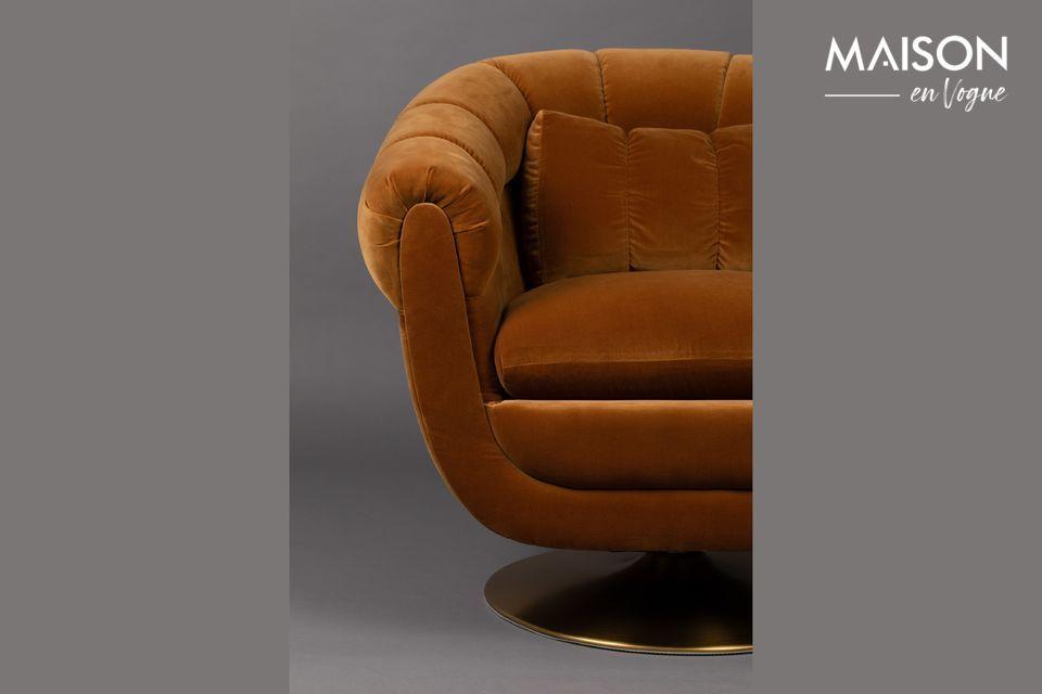 Grâce à une structure en bois d\'eucalyptus, cette chaise peut supporter un poids de 200 kg