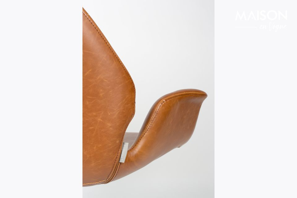 Chaise lounge nikki marron - 4