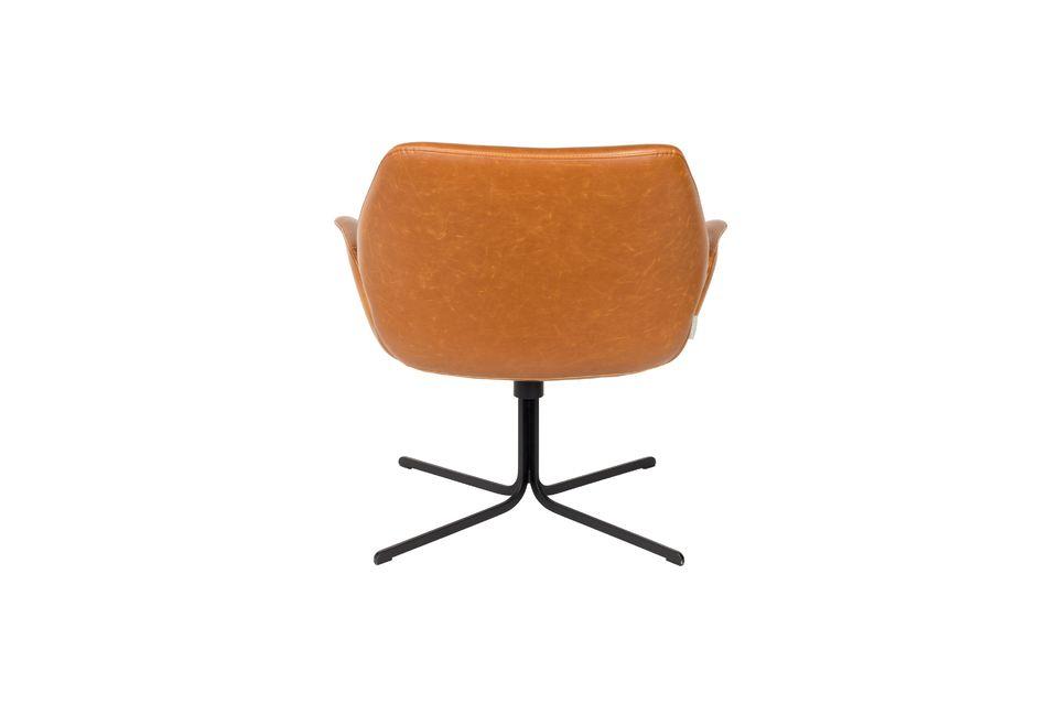Chaise lounge nikki marron - 7
