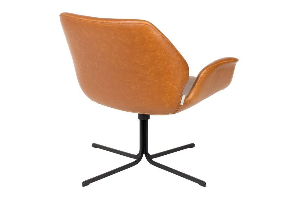 Chaise lounge nikki marron - 8