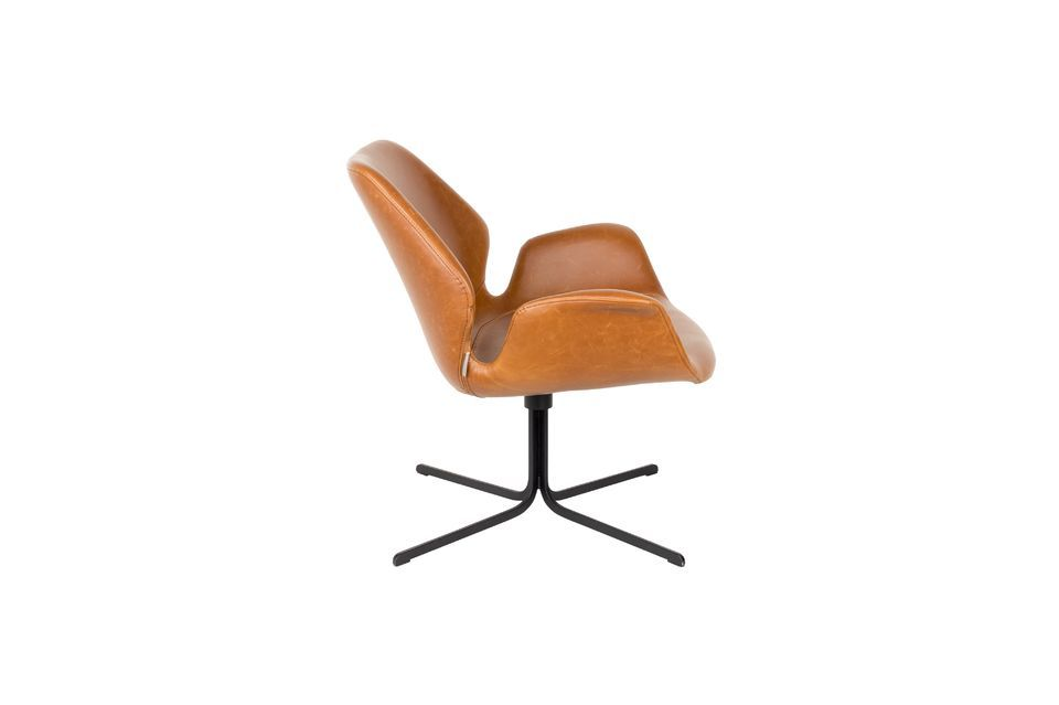 Chaise lounge nikki marron - 9