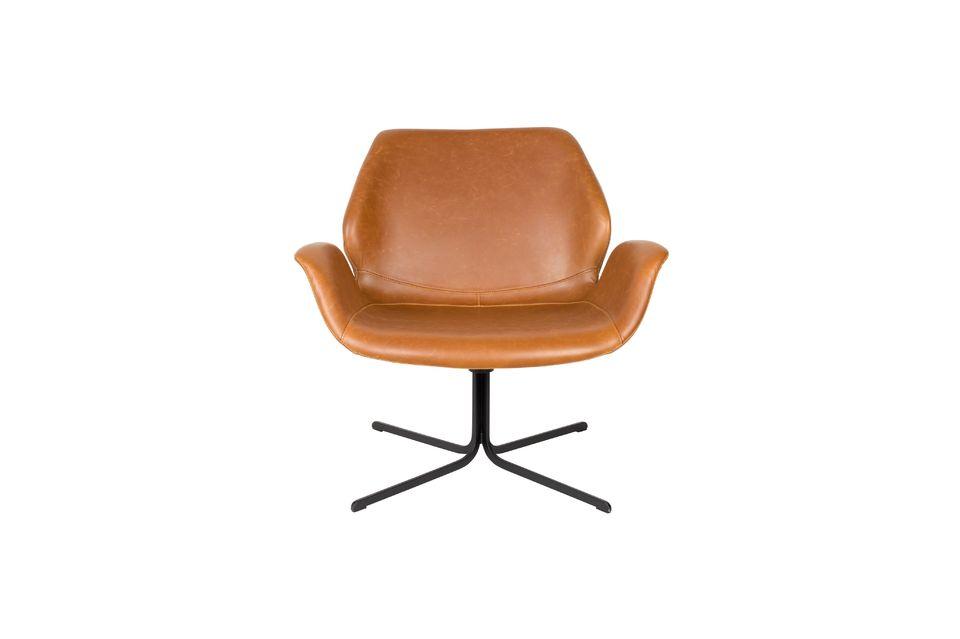 Chaise lounge nikki marron - 10
