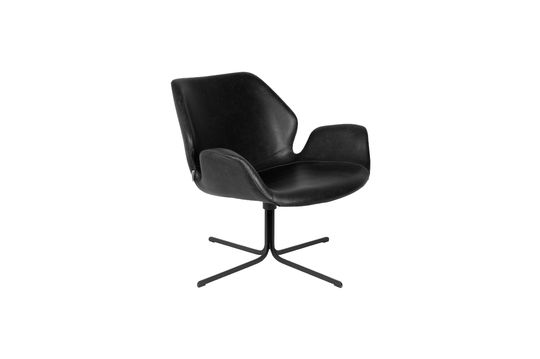 Chaise lounge Nikki noire Détouré