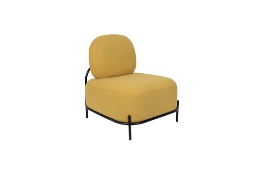 Chaise lounge Polly jaune Détouré