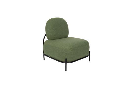 Chaise lounge Polly verte Détouré