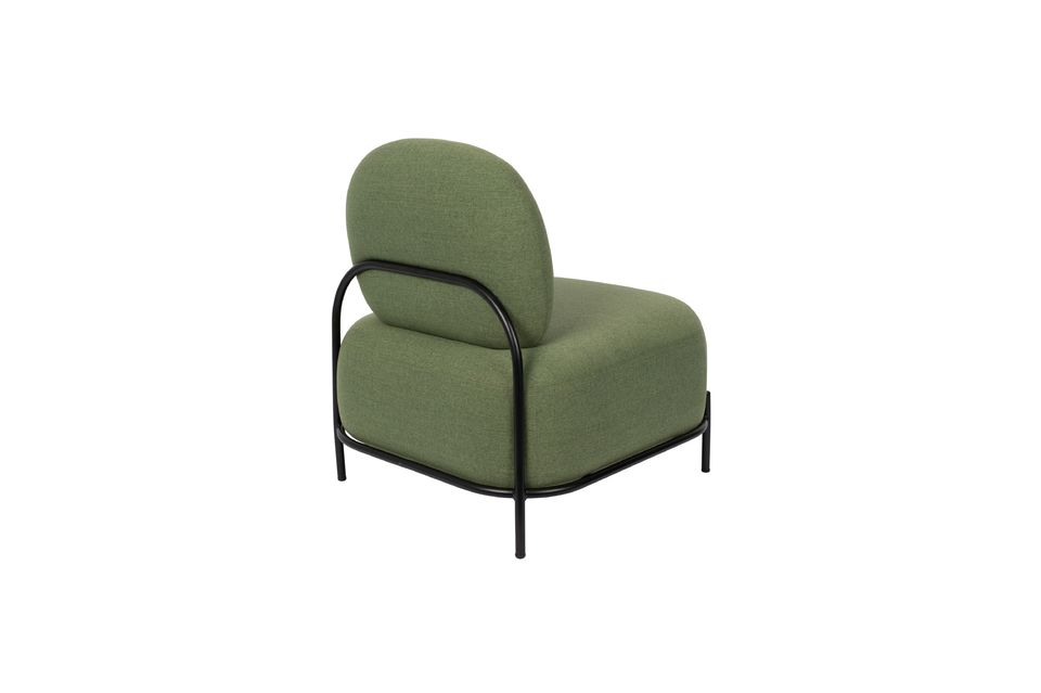 Chaise lounge Polly verte - 7