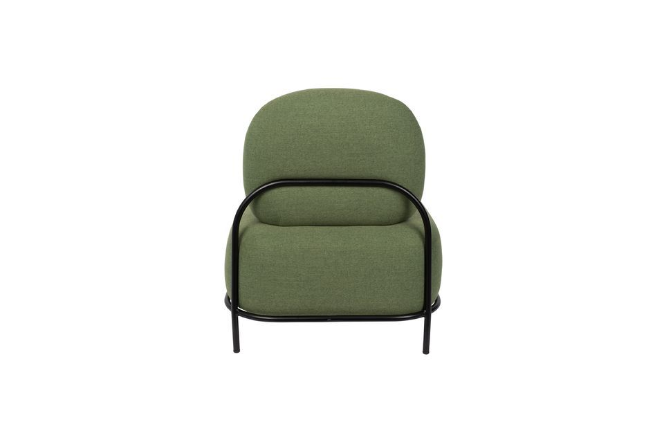 Chaise lounge Polly verte - 8