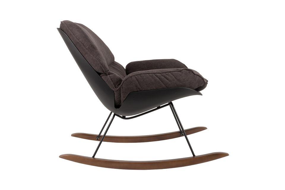 Chaise lounge Rocky foncée - 6