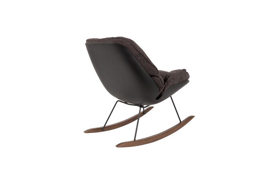 Chaise lounge Rocky foncée - 7