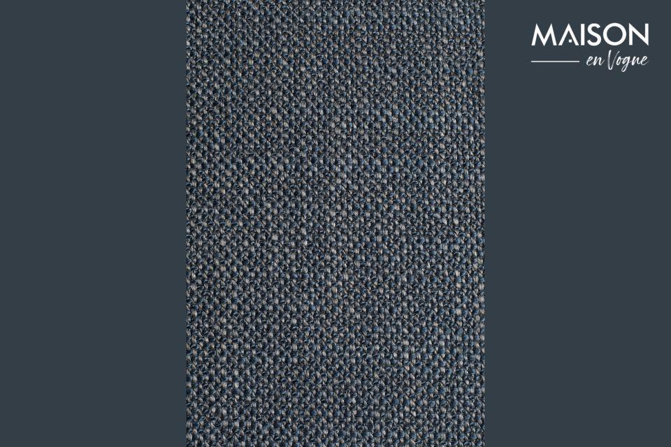 L\'assise et le dossier sont en polyester (78 %) et en acrylique (22 %)