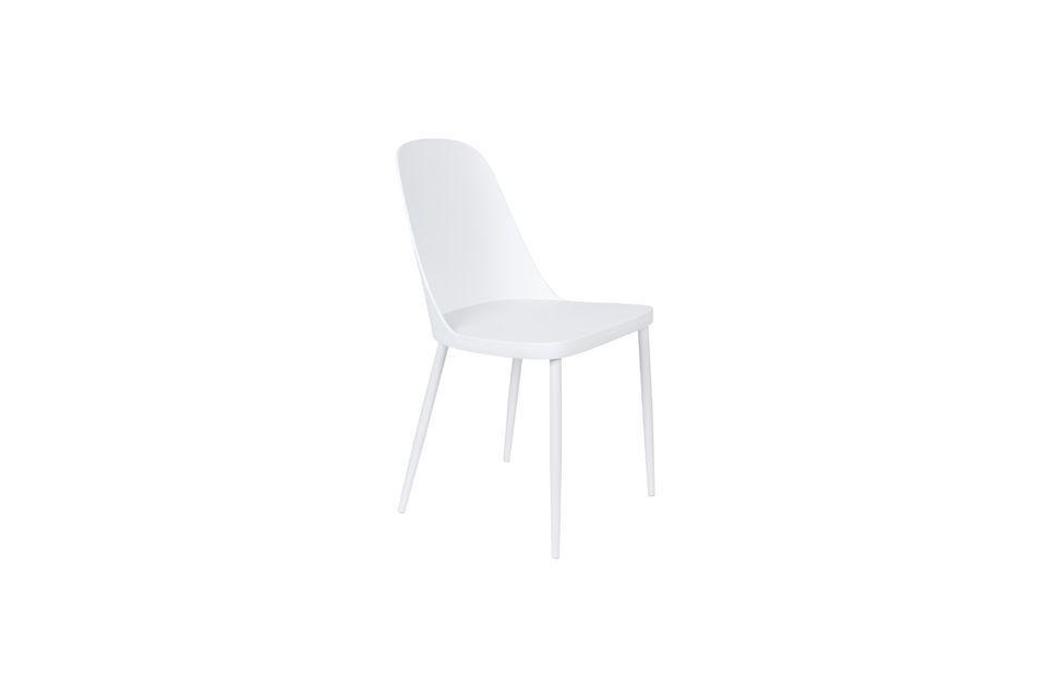 Chaise Pip blanche - 5