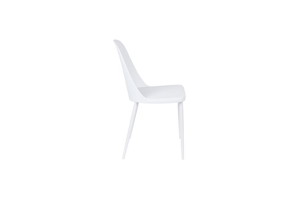Chaise Pip blanche - 7
