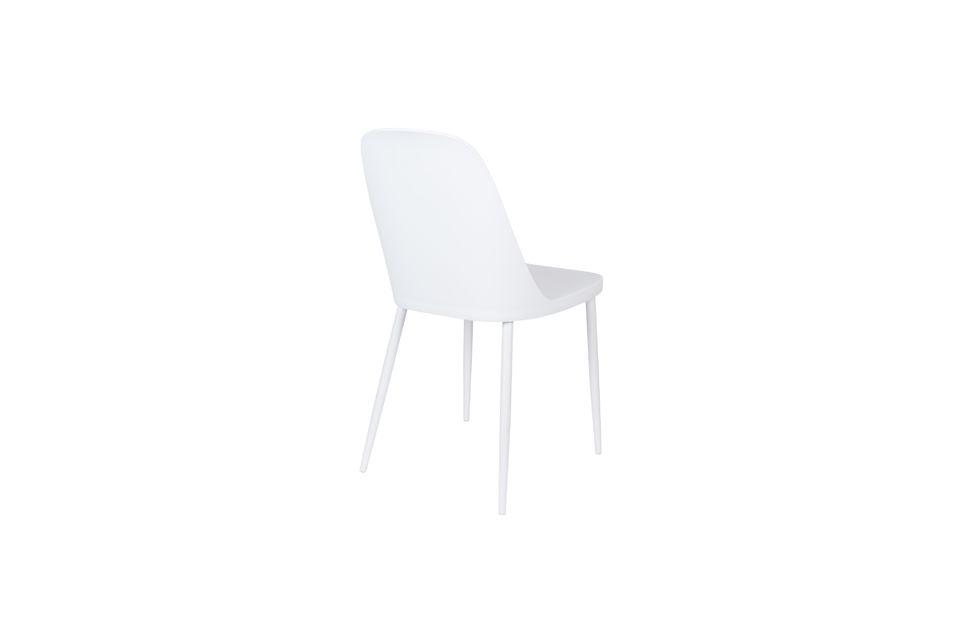 Chaise Pip blanche - 8