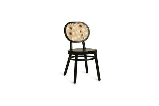 Chaise rétro en cannage Broglie