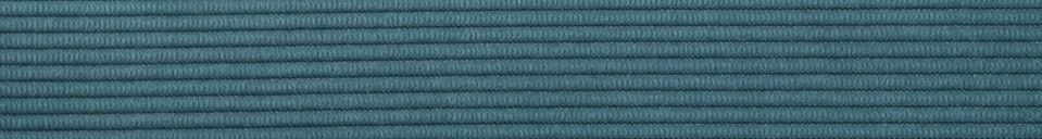 Mise en avant matière Chaise Ridge Rib Bleue