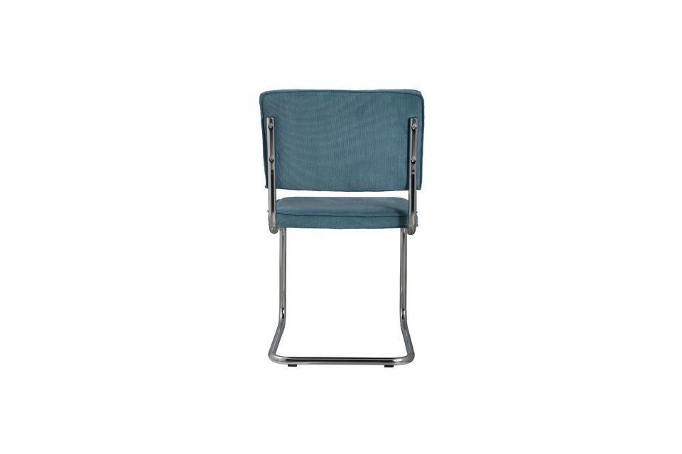 Chaise Ridge Rib Bleue - 8