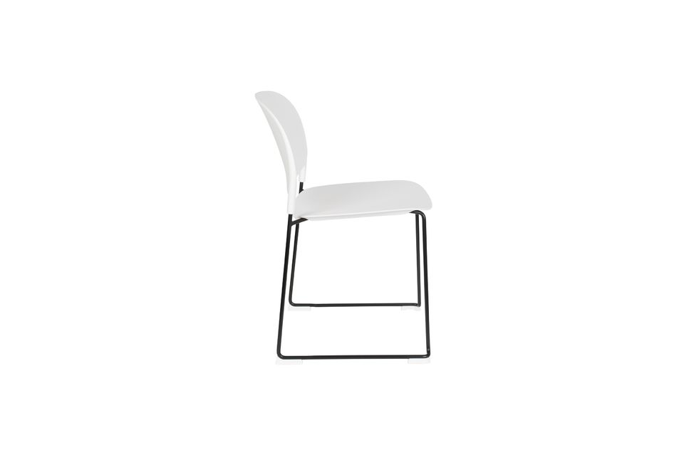 Chaise Stacks Blanche - 12