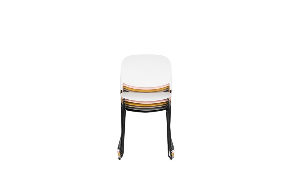 Chaise Stacks Blanche - 6