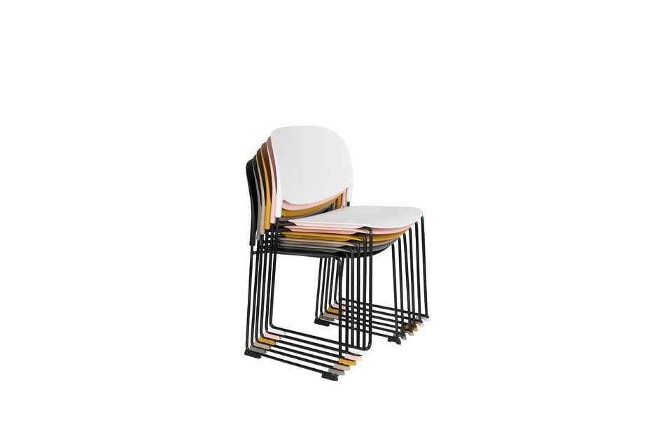 Chaise Stacks Blanche - 7