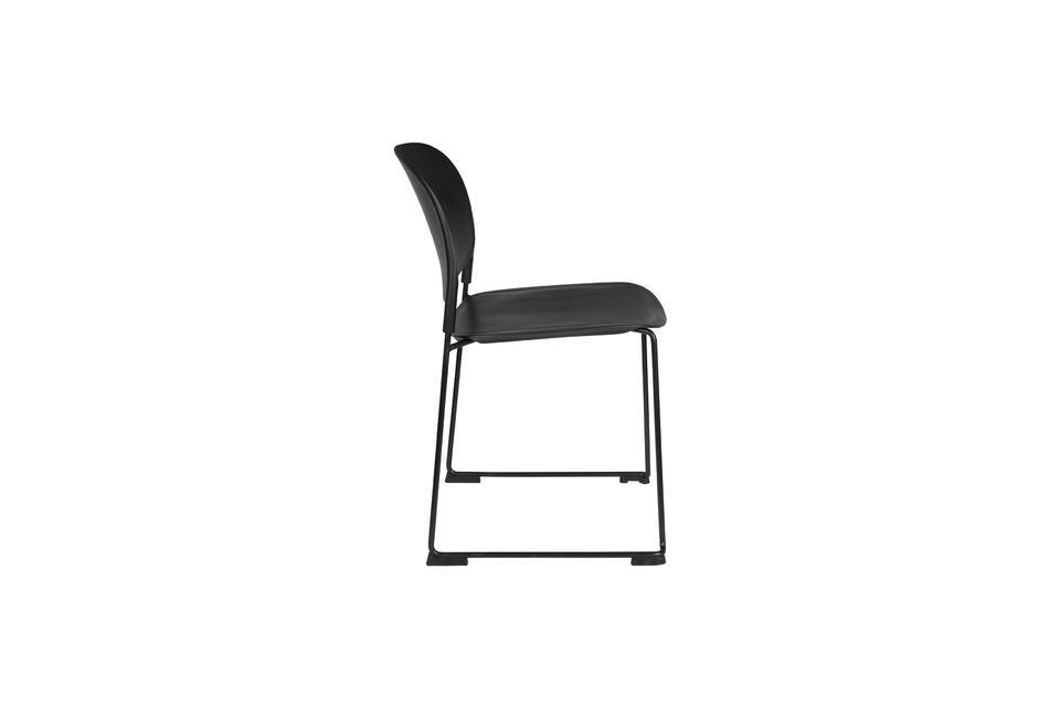 Chaise Stacks noire - 13