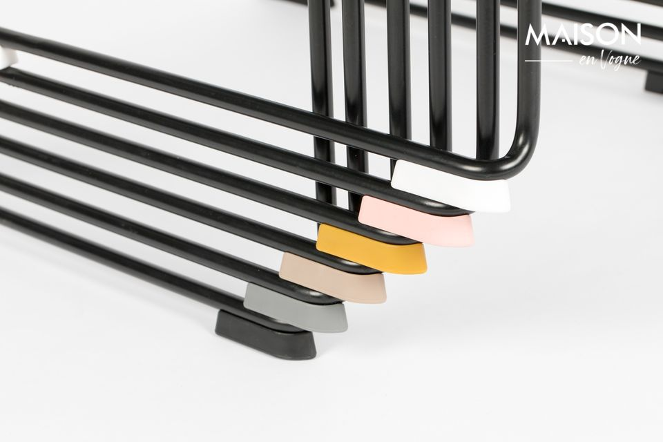 Chaise Stacks noire - 7