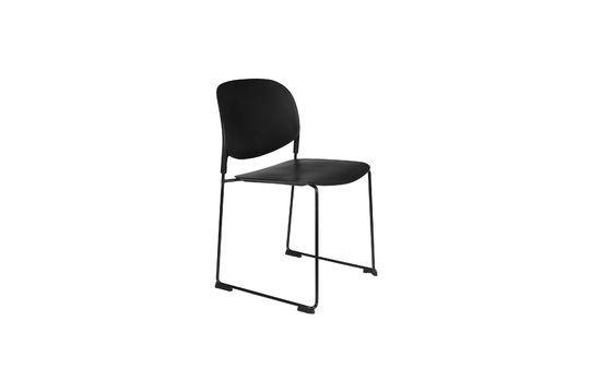 Chaise Stacks noire Détouré