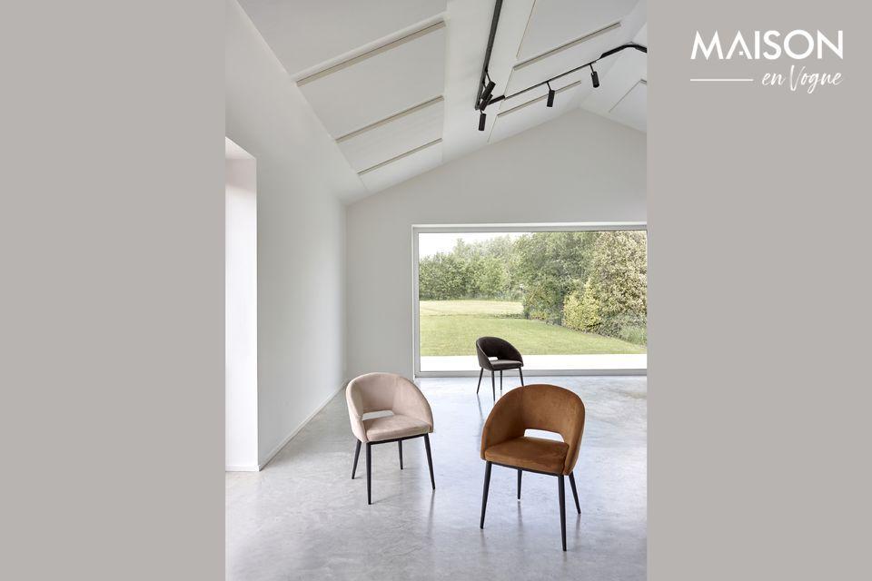 Une chaise au style contemporain pour un confort maximal